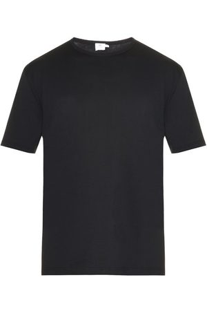Sunspel T-shirt en jersey de coton à col ras du cou