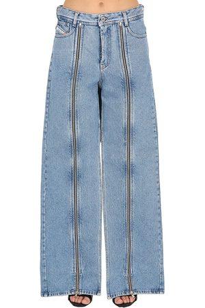 """SHAYNE OLIVER X DIESEL Femme Jeans - Jean """"shayne Oliver"""" En Denim De Coton À Zip"""
