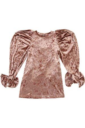 MUMMYMOON Robe Manches Longues En Velours
