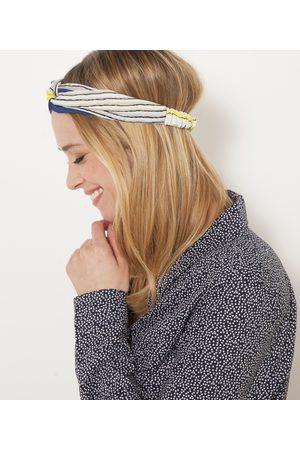 Camaïeu Femme Bandeaux - Headband rayé femme