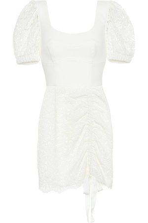 Rebecca Vallance Mini-robe Le Saint Lace en dentelle