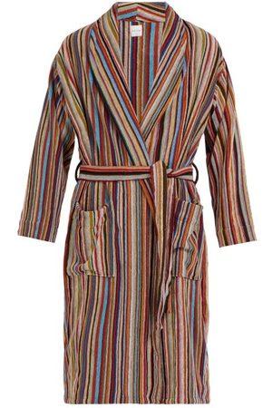 Paul Smith Homme Peignoirs - Peignoir en coton rayé Signature Stripe