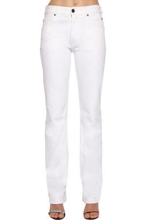 Calvin Klein Jean Taille Mi-haute En Denim De Coton