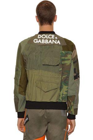 Dolce & Gabbana Veste En Patchwork Avec Logo En 3d