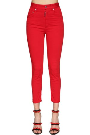 "Dsquared2 Jean Taille Haute ""twiggy"" Stretch"