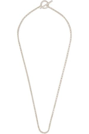 ALL BLUES Homme Colliers - Collier en sterling à maille corde