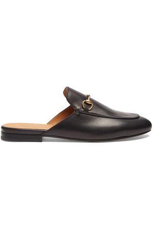 Gucci Mocassins - Mocassins ouverts en cuir Princetown