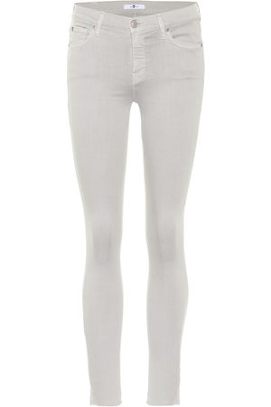 7 for all Mankind Jean skinny The Skinny Crop en coton stretch