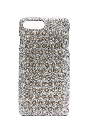 Christian Louboutin Coque en cuir Loubiphone pour iPhone® 7+ et 8+