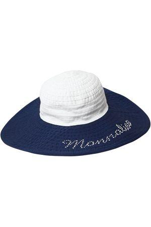 7011d50fc85b Acheter Bonnets   chapeaux fille de couleur bleu en Ligne   FASHIOLA ...