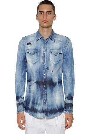 Chemises Chemises En Jean Homme Style Chemise Dsquared2 Comparez