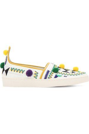 Aquazzura Sneakers Slip-on En Simili Cuir