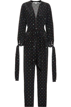 Stella McCartney Combi-pantalon Kiera en soie imprimée