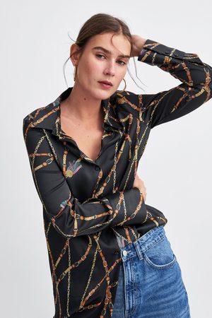Zara para mujer Camisa Camisa barroca Zara barroca para bfg6Yy7