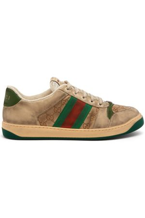 Gucci Baskets basses à bande Web Screener