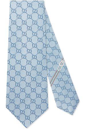 Gucci Cravate en soie motif GG