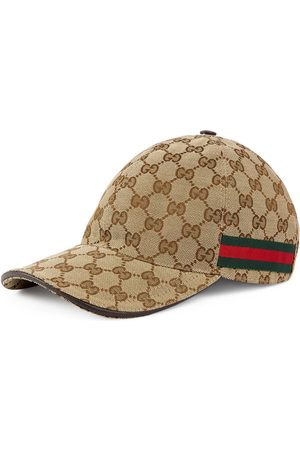 Gucci Casquette de base-ball avec détail bande Web