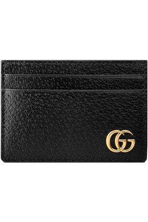 Gucci Portefeuille avec pince à billets en cuir GG Marmont