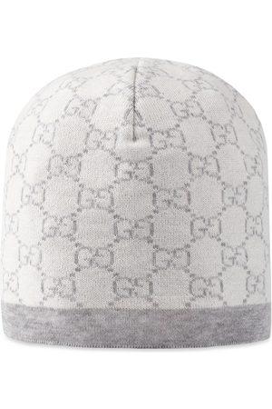 Gucci Bonnet pour bébé en laine à motif GG