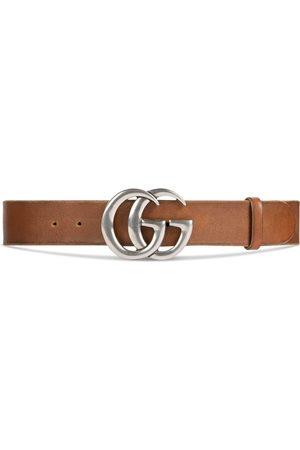 Gucci Ceinture en cuir avec boucle double G