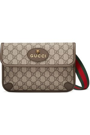 Gucci Sac ceinture en toile Suprême GG