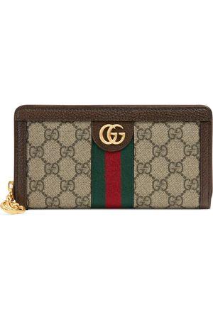 Gucci Portefeuille zippé Ophidia GG