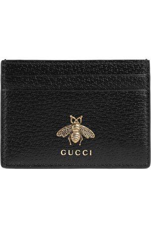 Gucci Homme Portefeuilles - Porte-cartes Animalier en cuir