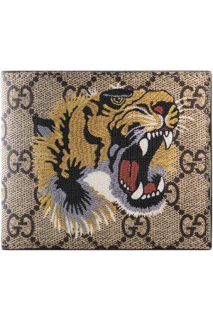 Gucci Portefeuille Suprême GG à imprimé tigre