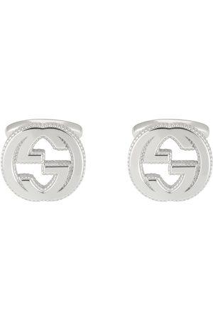 Gucci Boutons de manchette en argent Double G