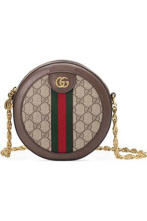 Gucci Mini sac à épaule rond Ophidia GG
