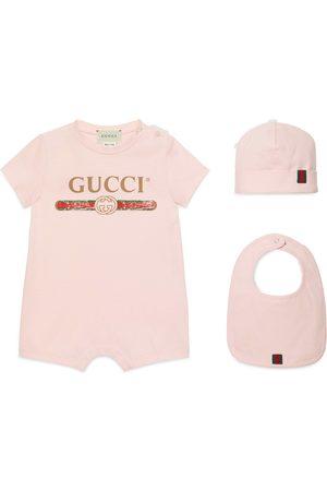 Gucci Ensemble cadeau bébé à logo