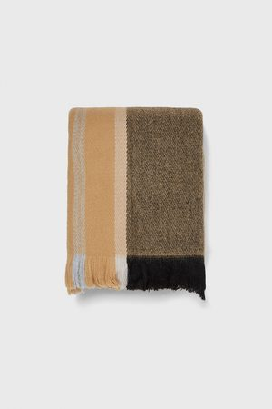 Zara Homme Écharpes & Foulards - écharpe à carreaux