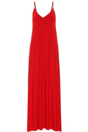 Norma Kamali Robe longue en jersey stretch