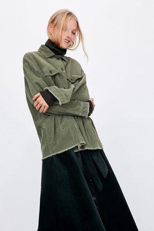 Manteaux & Vestes femme velours Zara