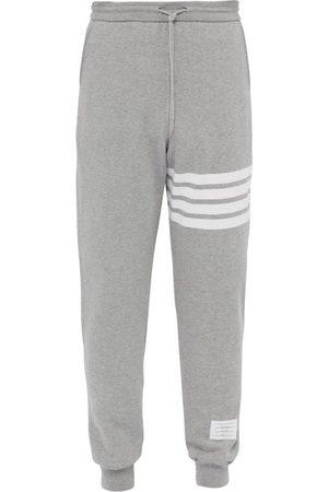 Thom Browne Pantalon de jogging en coton à rayures