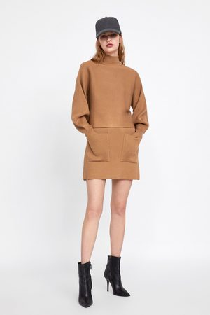 Zara Mini-jupes - MINI SKIRT WITH POCKETS
