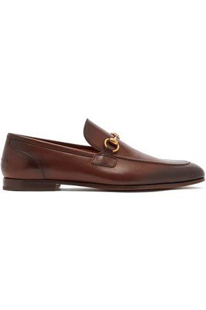 Gucci Homme Mocassins - Mocassins en cuir à mors Jordaan