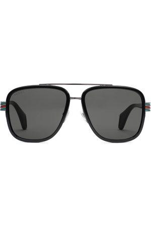Gucci Lunettes de soleil aviateur