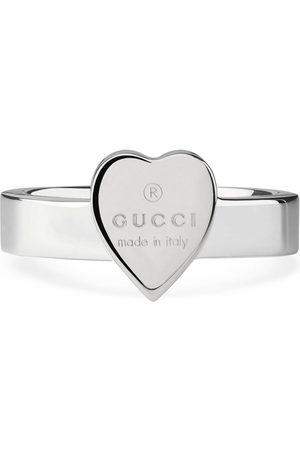 Gucci Bague cœur et logo signature