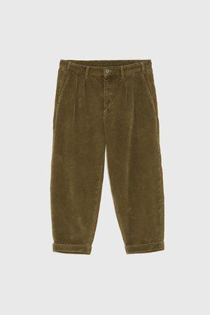 pantalon homme velours zara