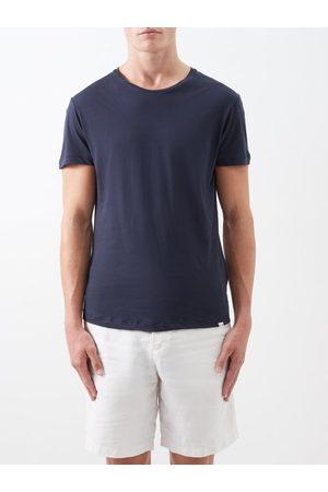 Orlebar Brown Homme T-shirts - T-shirt en jersey de coton Ob-T