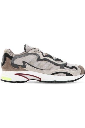 """adidas Homme Chaussures - Sneakers En Mesh Et Cuir """"temper Run"""""""