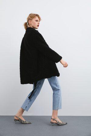 Zara Manteau effet mouton