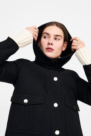 Zara Manteau à boutons