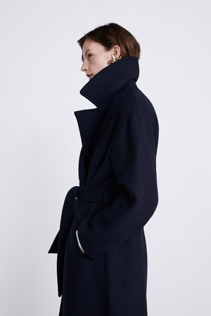 Zara Manteau à ceinture
