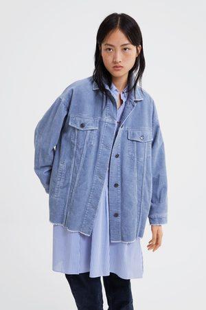 Zara femme veste velours