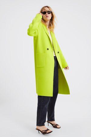 Zara Manteau masculin fluo