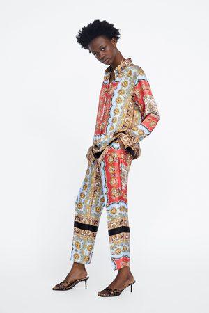 Zara Pantalon imprimé