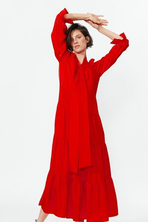 Zara Robe à volants