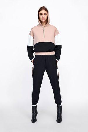 pantalon jogging femme zara